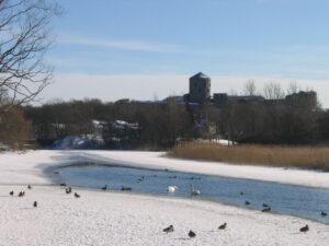 Bohus fästning vinter